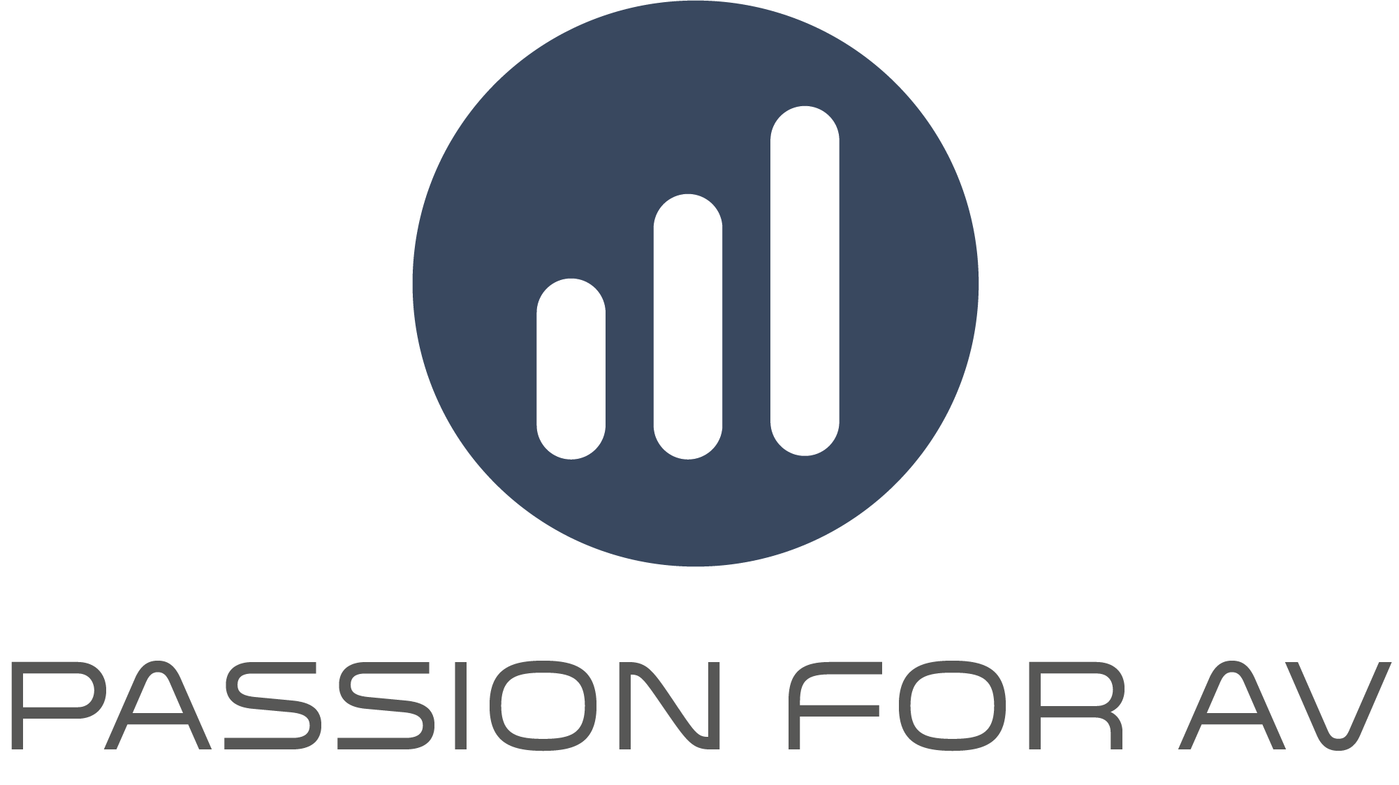 Passion for AV logo